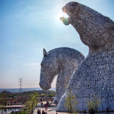 The Kelpies, Helix Park, Falkirk