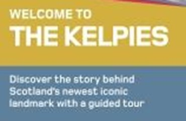 The Kelpies, Falkirk|Tourist Information Leaflet 2016