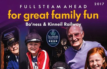 Boness and Kinneil Railway Tourist Information Leaflet