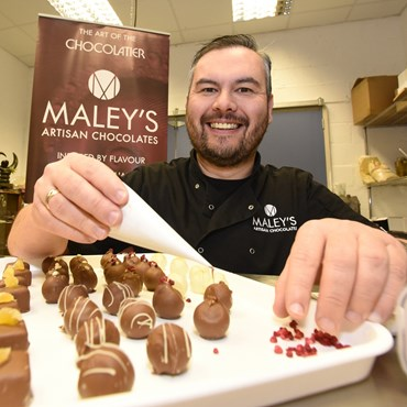 Maleys Chocolate|Chocolate Manufacturer Scotland|Visit Falkirk