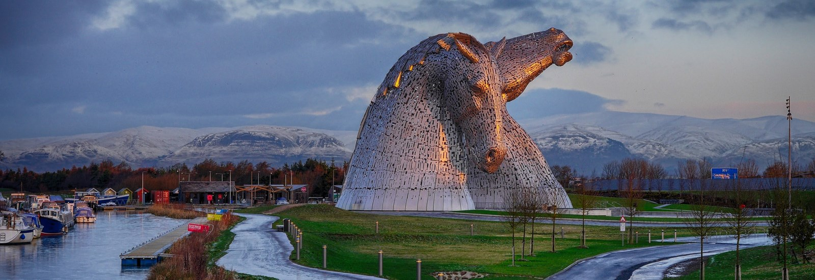 The Kelpies - Winter