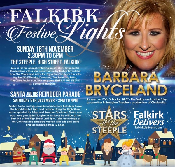Falkirk Town Centre Xmas events