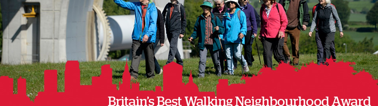 Falkirk UK's best walking neighbourhood