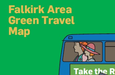 Falkirk Area Green Travel Map