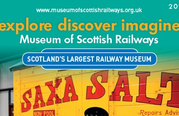 Museum of Scottish Railways leaflet 2020