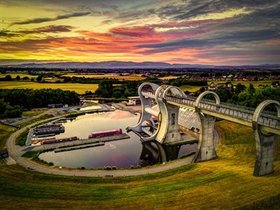 Falkirk Wheel by David Wilkinson