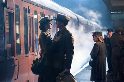 Claire and Frank at Bo'ness Railway - PC: Sony Picture Television Inc. All rights reserved.