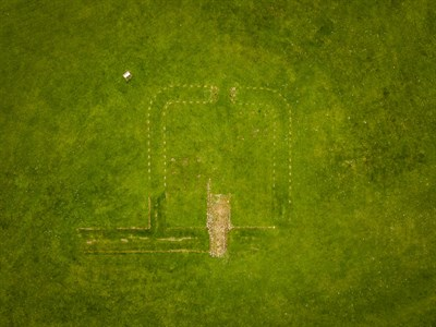 Antonine Wall, Falkirk by David Wilkinson, Scotdrone
