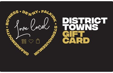 Falkirk district towns gift card
