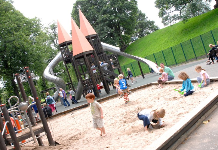 Callendar House & Park, Kids Play Area, Falkirk