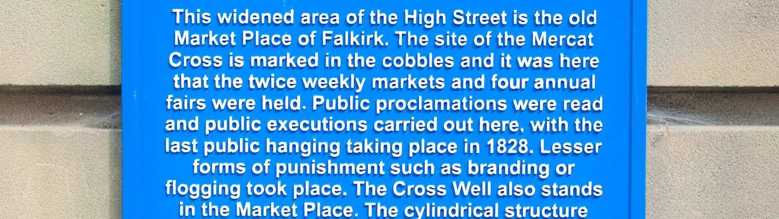 Falkirk Town Heritage Trail, Falkirk Town Centre