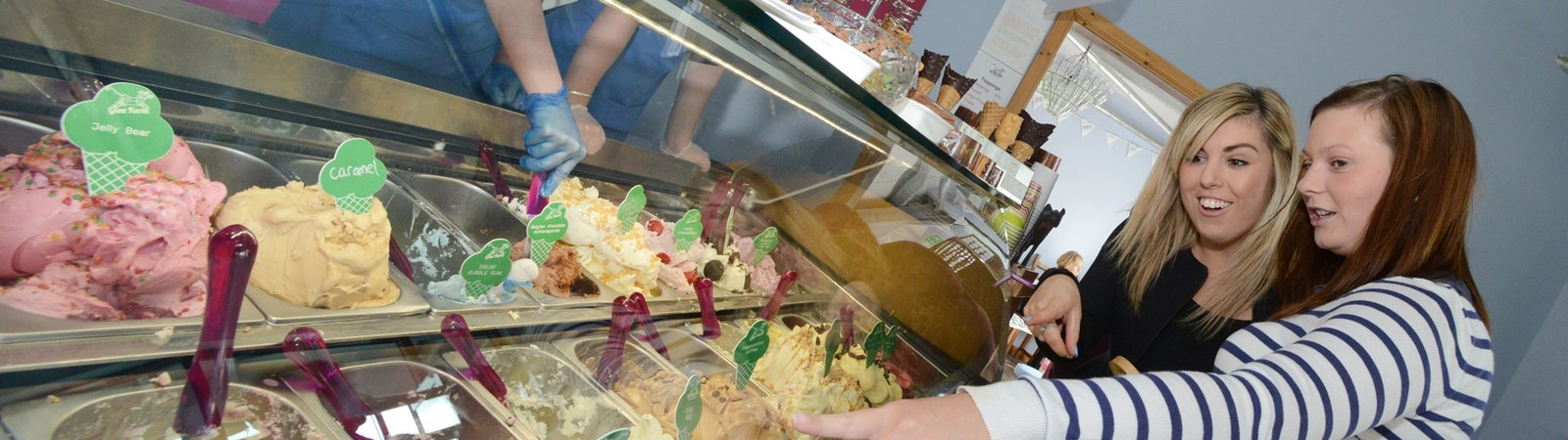 Milkbarn Ice Cream Parlour, Falkirk|Icecream|Things to do in Falkirk