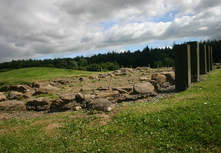 The Antonine Wall- Kinneil Fortlet - Unesco World Heritage Site