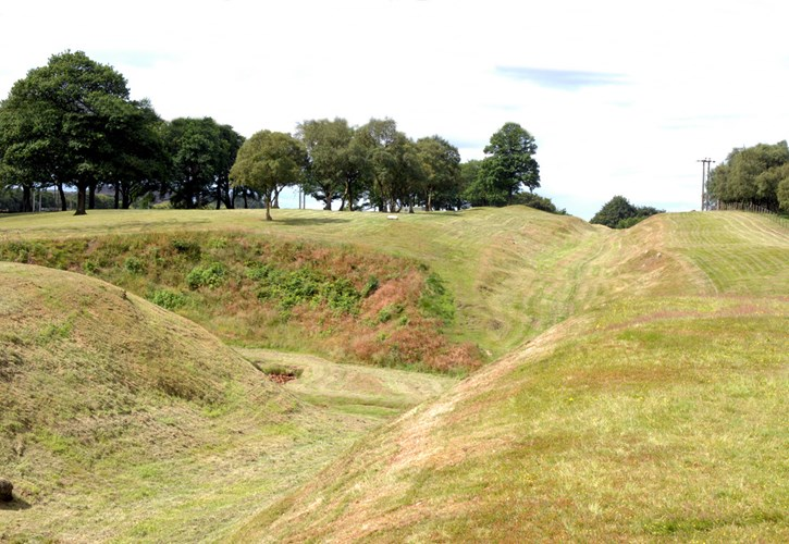 Antonine Wall - Roughcastle, Falkirk