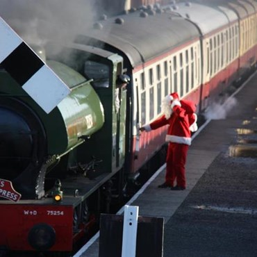Bo'ness and Kinneil Santa Train