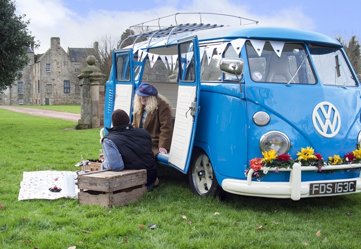 Vintage VW Campers, classic Campervan Hire Scotland|Self Catering accommodation Falkirk
