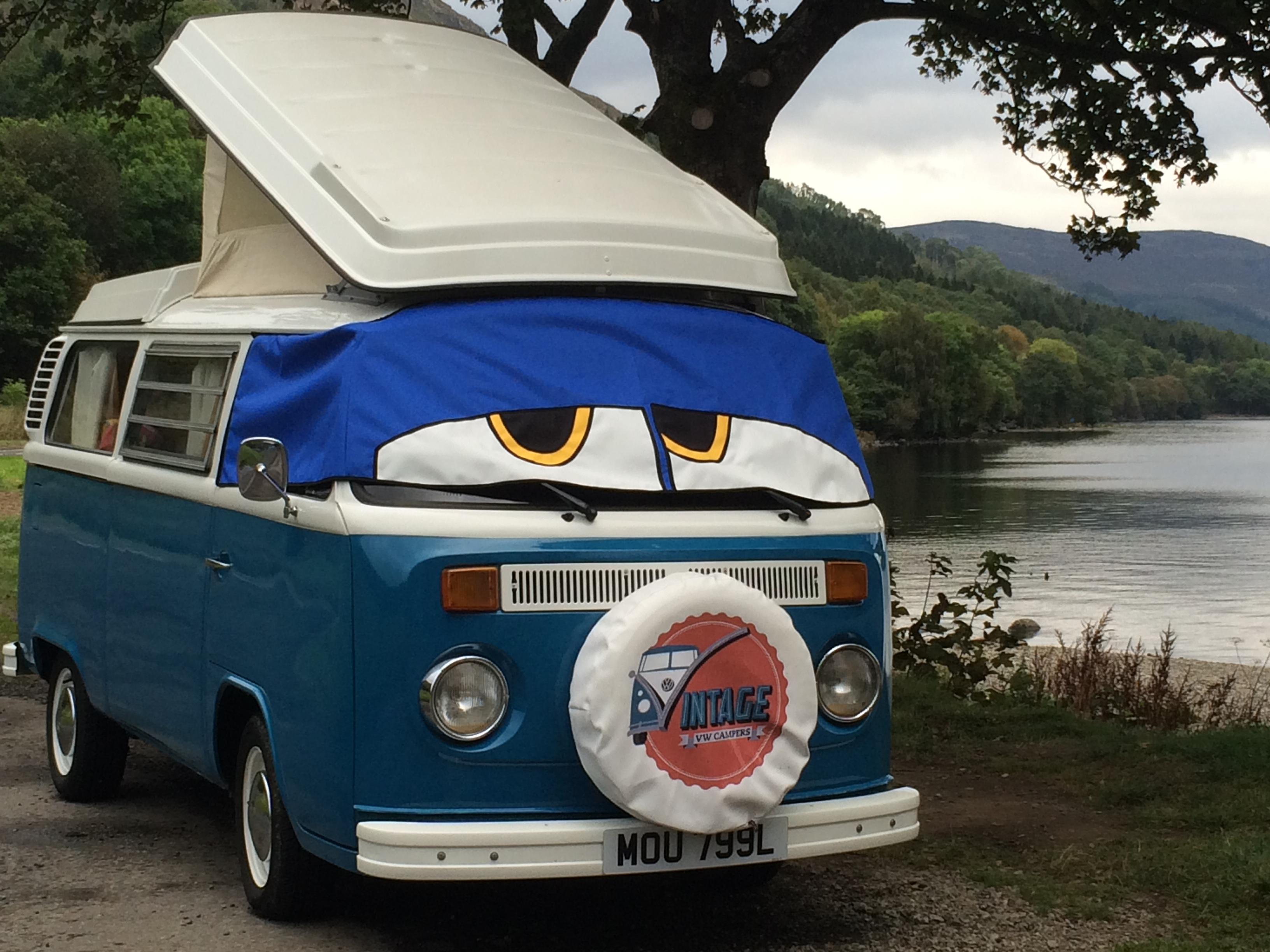Vintage Vw Campers Vw Camper Hire Scotland Self Catering Falkirk