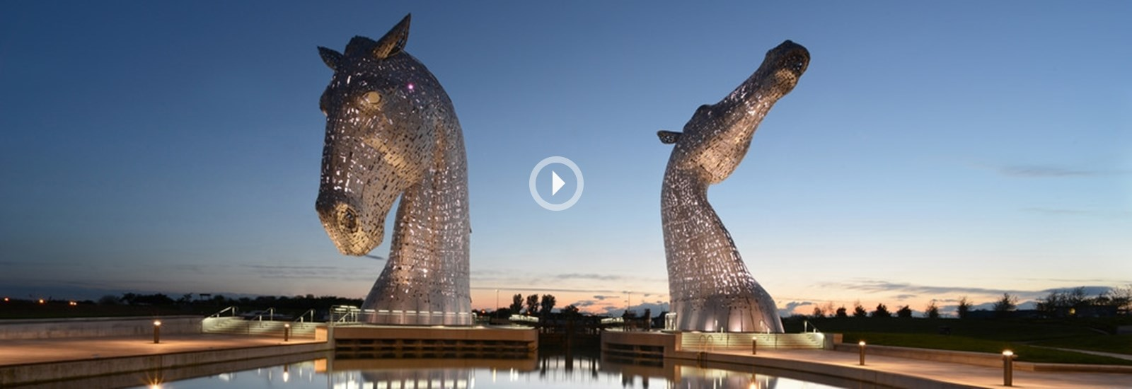 The Kelpies, Kinetic Falkirk Video